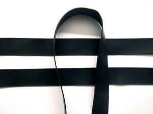 Latex Rubber Trim Strips 0.50mm, 10mm x 200cm, Black