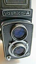 Vintage Yashica-A TLR Camera Yashimar Lens Estate Find