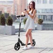 Folding Adult Ride Kick Scooter Outdoor Portable Lightweight Adjustable 2 Wheels