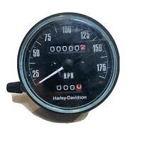 harley davidson OEM Kilometer Speedometer Zero Mile NOS 77-84 XL 35mm FXR AMF