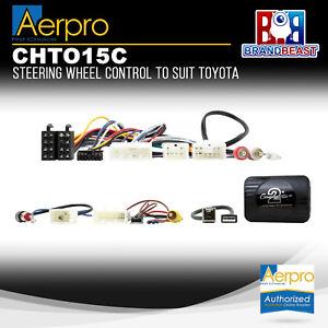 Aerpro CHTO15C Steering Wheel Control to Suit Toyota