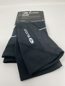 Sugoi Zap Knee Warmers Cycling Clothing Unisex Black Size S/P New With Tags