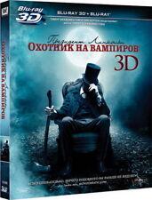 Abraham Lincoln: Vampire Hunter (Blu-ray 3D+2D, 2-disc set) Eng,Russian,Thai,Tur