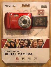 Vivitar 20 Megapixel Digital Camera, 180 Degree Rotating Screen, 720p