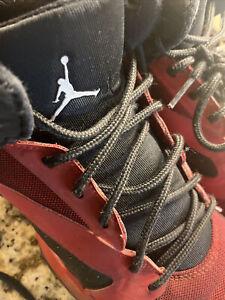 Nike Jordan Boys Basketball Black Gym Red AR6346-002 Youth Size 6Y