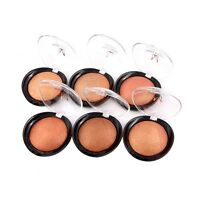 Cosmetic Makeup Baked Blush Palette Baked Cheek Color Blushers Beauty Powder