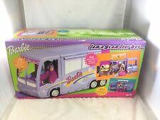 Vintage Barbie Jam 'N Glam Tour Bus New In Sealed Box