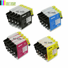16PK New LC65 XL Ink for Brother MFC-5890CN MFC-5895CW MFC-6490CW MFC-6890CDW