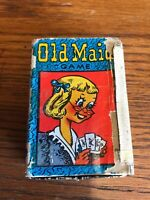 VINTAGE RARE OLD MAID PLAYING CARDS GAME NURSERY RUSSELL VOL.1 Not Complete