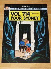 Tintin Tintin Poster - Vol 714 Pour Sydney/Flight to Sydney Poster