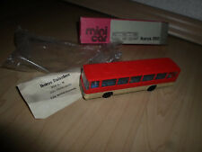 DDR Mini Car Modelle Bus IKARUS 260  OVP 1:87 H0 Minicar