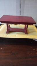 Dolls House Furniture   Mahogany Table
