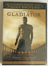 Gladiator Dvd Widescreen Russell Crowe Joaquin Phoenix New Sealed