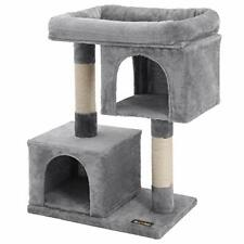 New listing Feandrea Cat Tree for Large Cats, Cat Tower 2 Cozy Plush Condos and Sisal Posts