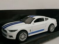 1/43 FORD SHELBY MUSTANG GT350 2016 LICENCIA COCHE METAL ESCALA SCALE DIECAST