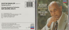 CD - MAHLER - SYMPHONY NO. 5 - CHICAGO SYMPHONY ORCHESTRA - SIR GEORG SOLTI