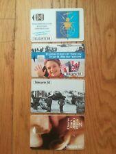 ww2 Lot 4 carte téléphonique Dday Normandie USN Airborne jeep USA GI para casque