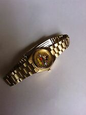 Vintage Disney woman's  Seiko Mickey Mouse Watch minute hand is slipping