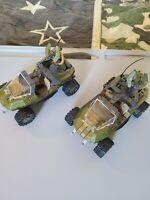 Halo Mega Construx Warthog Lot
