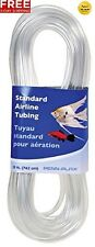 PENN PLAX STANDARD AIRLINE TUBING AIR PUMP FOR AQUARIUM CLEAR 25 FEET FREE 2 DAY