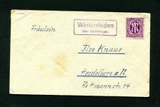 """Bizone 1945, Landpost """" Winterrieden over Memmingen """" (#5426)"""