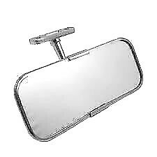 MORRIS MINOR NEW STAINLESS CLASSIC CAR INTERIOR MIRROR UNIVERSAL