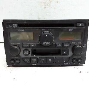 03 04 05 Honda Pilot AM FM CD cassette entertainment unit woodgrain 39100-S9V-A2