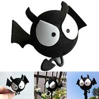 Cute Big Eyes BAT Evil Aerial Ball Car Antenna Topper For Truck SUV Decor Bal_wu