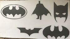 X5 Batman Marvel Stencil Glass Craft Etched Vinyl Sticker Silhouette Disney