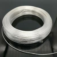 US Stock 20 Feet 14 AWG High Temperature Teflon PTFE Silver Plated Wire 2.0mm2