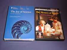 Teaching Co Great Courses  DVDs         THE JOY OF SCIENCE       new + BONUS