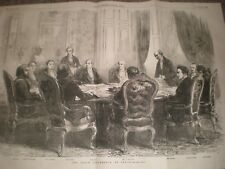 The Peace Conference at Paris 1856 print ref AT