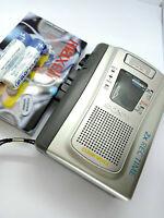 Sony TCM-40DV Pressman Standard Cassette Voice Recorder Dictaphone Dictation