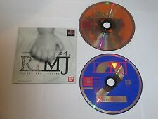 R?MJ - THE MYSTERY HOSPITAL - Playstation 1 PS1 Japan Import Discs Only
