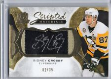 2016-17 The Cup Scripted Materials  #SMSC Sidney Crosby 02/35