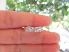 .23 Carat Diamond White Gold Infinity Ring 14k codeHE54 sepvergara