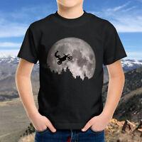 Motocross Freestyle ET Flying Bicycle AMA Racing Kids Boy Youth Teen Tee T-Shirt
