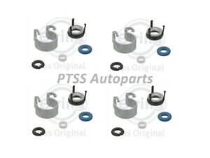 Elring Fuel Injector Seals Repair Kit 4x Set For VW GTI Tiguan AUDI A4 1.8T 2.0T