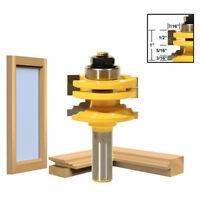 """Carbide Glass Router Shank Bit Door Cemented 1/2"""" Ogee Woodworking Tool Helpful"""