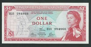 EAST CARIBBEAN 1 DOLLAR 1965 P-13d  UNC