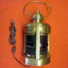 LANTERN - Port & Starboard – Nautical - Antique Brass – U.S.A.