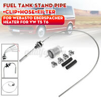 Fuel Tank Stand Pipe w/ Pickup Clip Filter Hose For Webasto Eberspacher Heater
