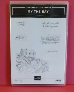 Stampin'Up Stamp Set Rubber Mount By the Bay 149739