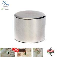 N52 Neodymium Iron Boron Magnet Super Strong Round Cylinder Rare Earth NIB NEO 1