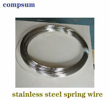 Stainless steel spring hard wire single steel wire bright hard wire 0.2mm -01mm