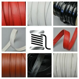 20mm Double Stitched Folded Faux Leather Trimming Straps Belt Bag Handles Trims