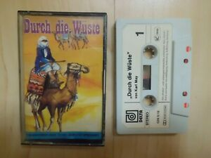 MC: Durch die Wüste - Karl May - Delta Hörspiel Kassette