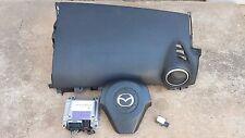 2004-2006 Mazda 3 Airbag set Driver Passenger Module Sensor OEM
