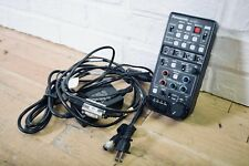 Panasonic AG-EC4 Extension Control Unit with cables near MINT-church owned