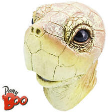 Turtle HEAD MASK Adulti Animale Costume Mare Uomo Donna Accessorio Costume Nuovo